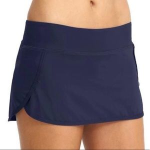 Athleta Kata Swim Skirt Navy XL